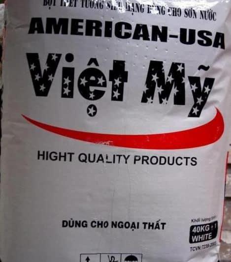 Bột trét tường ngoại thất Việt Mỹ – Bột trét tường Việt Mỹ ngoại thất cao cấp