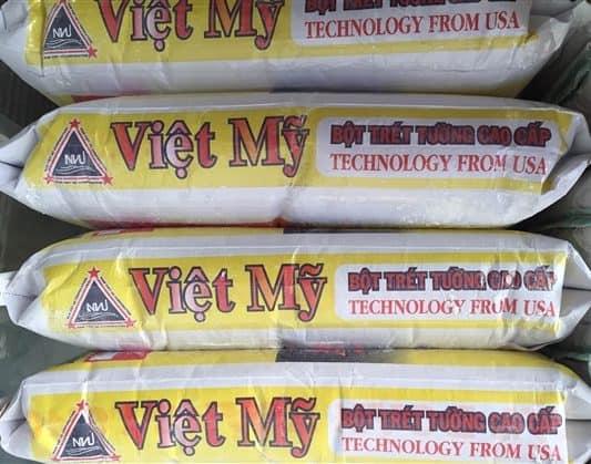 Bột trét tường nội thất Việt Mỹ – Bột trét tường Việt Mỹ nội thất cao cấp