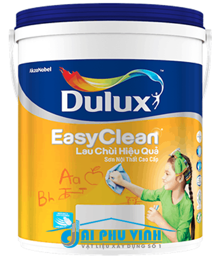 Dulux EasyClean Lau Chùi Hiệu Quả – Sơn nội thất Dulux cao cấp