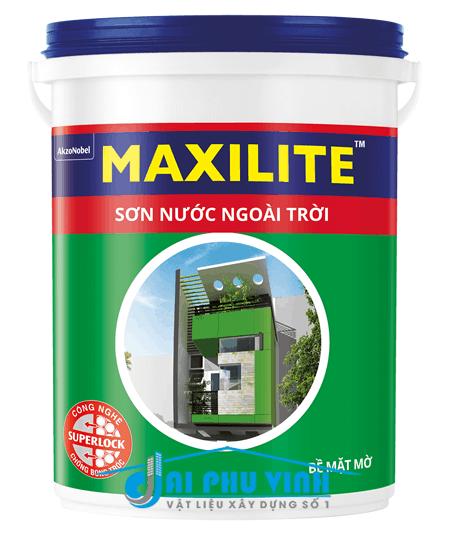 Sơn nước ngoài trời Maxilite – Sơn nước maxilite ngoại thất cao cấp