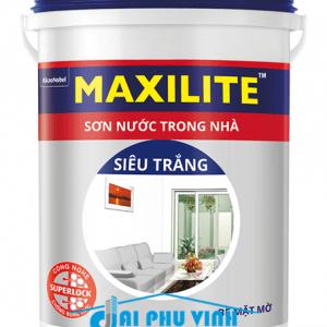 Sơn nước trong nhà Maxilite siêu trắng - Sơn nước Maxilite trong nhà