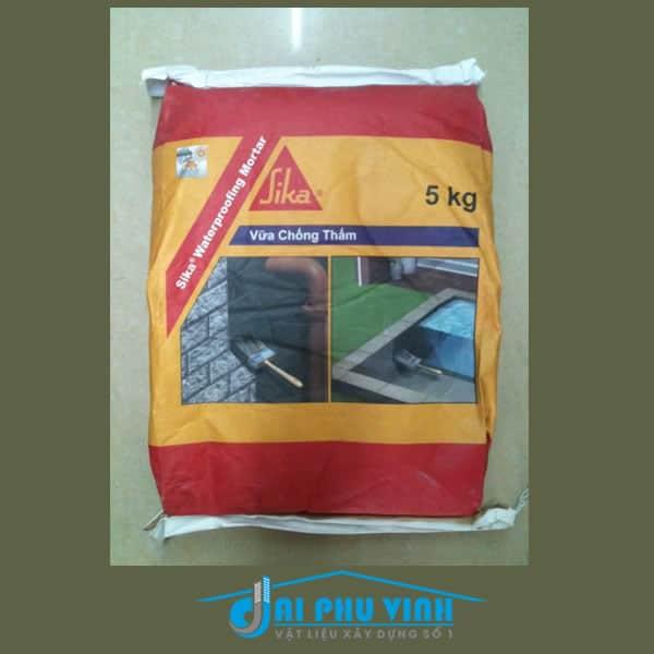 Sika Waterproofing Mortar - Vữa chống thấm gốc xi măng Waterproofing Mortar
