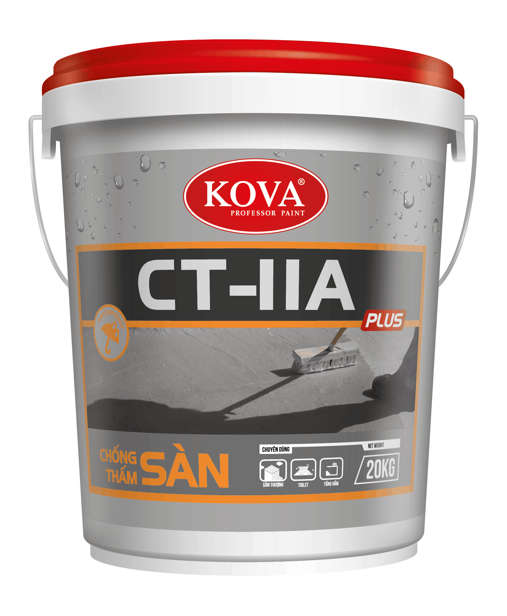 Chống thấm Kova CT 11 A Plus Sàn - Lh đăt hàng 0919157575