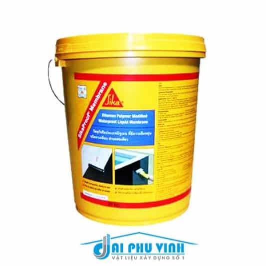 Sikaproof Membrane – Chống thấm sàn mái phẳng, tầng hầm, ban công