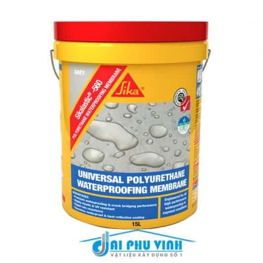 Sikalastic 560 – Thi công sàn mái – Chống thấm đàn hồi và kháng UV