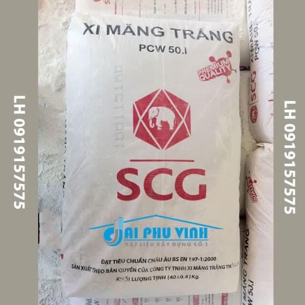 Cung cấp xi măng trắng con voi - Xi măng trắng SCG tại TPHCM và các tỉnh lân cận. LH 0919157575