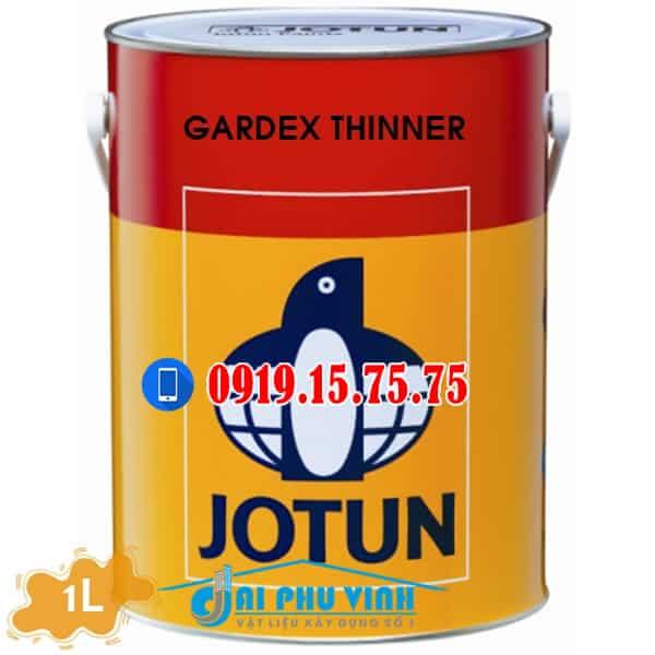 Sơn Jotun gardex thinner. Đặt hàng liên hệ: 0919.15.75.75
