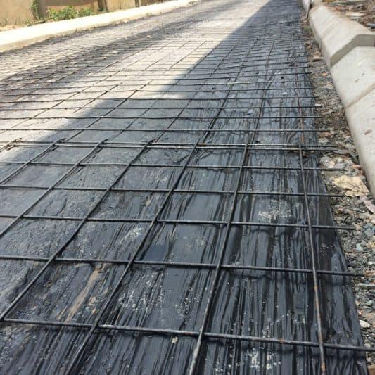Nilon lót sàn đổ bê tông màu đen dày 3zem (30 mic) – LH đặt hàng 0919.15.75.75