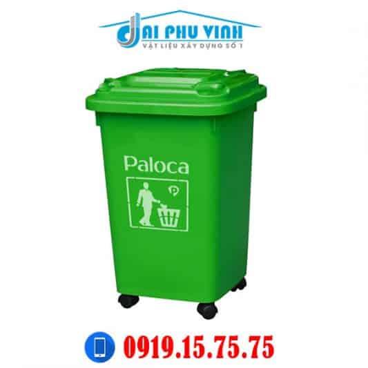Thùng rác công nghiệp nhựa composite 60 lít