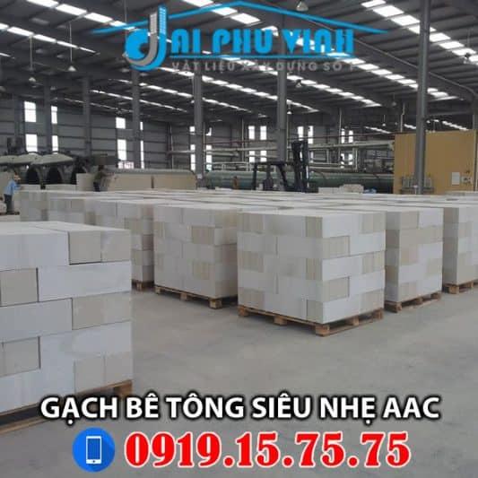 Gạch bê tông siêu nhẹ AAC – Liên hệ mua hàng 0919157575