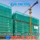Lưới bao che công trình xây dựng giá rẻ tại TPHCM. LH 0919157575