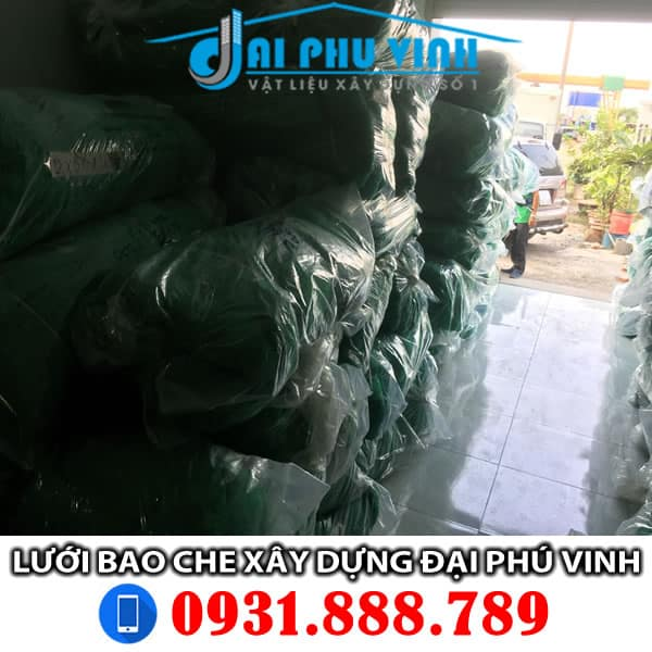 Hình ảnh lưới công trình - Lưới bao che tại Đại Phú Vinh. Đặt hàng LH 0931.888.789