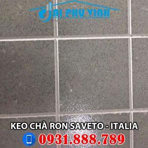 Hình ảnh thi công keo chà ron cao cấp Saveto nhập khẩu Ý