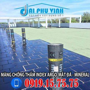 Chống thấm sàn mái bằng màng chống thấm Index 3mm mặt đá Xanh Italia - Lh 0931.888.789