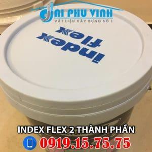 Chống thấm gốc xi măng 2 thành phần Index Flex. LH 0931888789