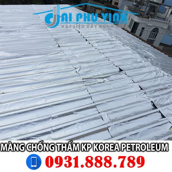 Ứng dụng thực tế màng chống thấm Kp Korea Petroleum