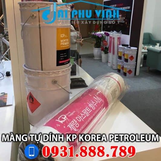 Màng chống thấm tự dính KP Korea Petroleum – hàn Quốc. Đặt hàng 0931888789