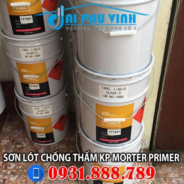 Sơn lót chống thấm gốc dầu KP Morter Primer nhập khẩu Hàn Quốc