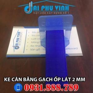 Ke cân bằng gạch ốp lát loại 2 mm. Liên hệ tư vấn và đặt hàng 0931.888.789