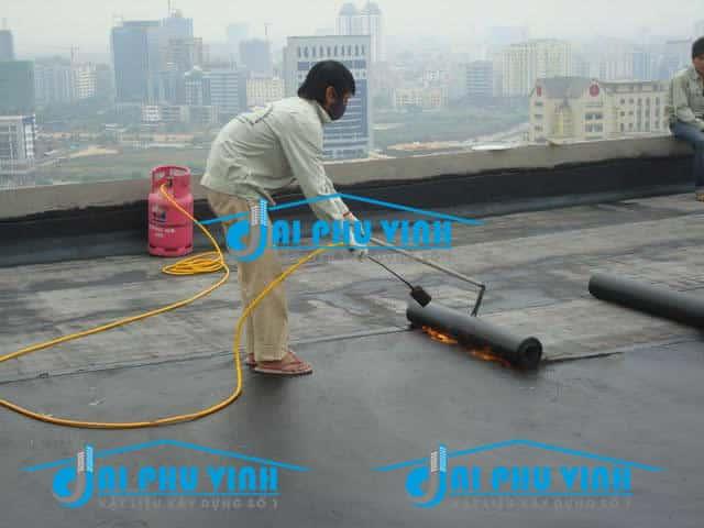 Ứng dụng đèn khò công nghiệp để thi công chống thấm. LH đặt hàng 0931888789