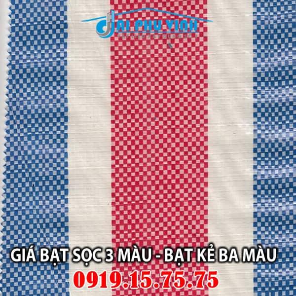 Bảng báo giá bạt sọc 3 màu mới nhất TPHCM - LH tư vấn và đặt hàng 0919.15.75.75