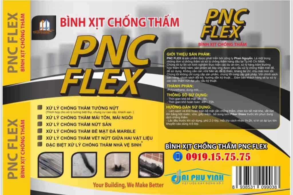 Bình xịt chống thấm PNC FLEX - LH tư vấn và đặt hàng 0919157575