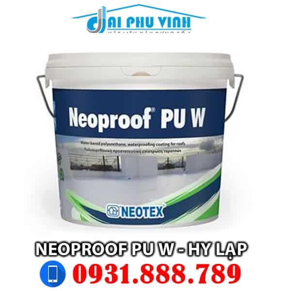 Chống thấm sàn Neoproof PU W - Hy Lạp