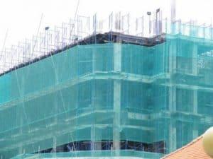 Lưới bao che công trình xây dựng. Lh mua hàng 0919157575