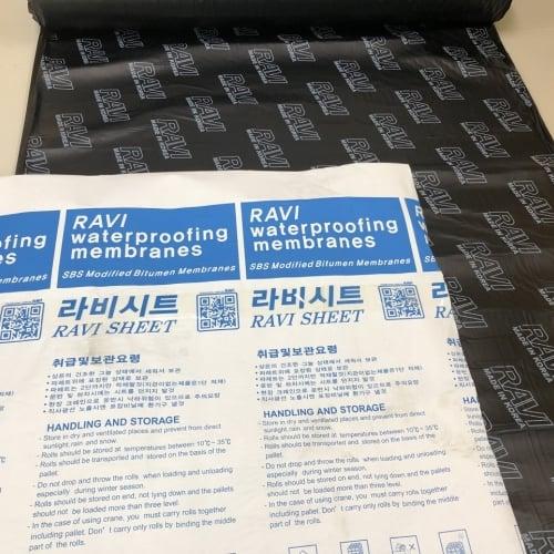 Màng tự dính chống dột Ravi - Màng chống thấm Ravi Korea - Đặt hàng 0919157575