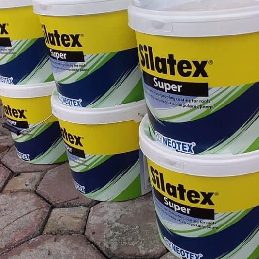 Chất chống thấm Silatex Super Gốc Acrylic xuất xứ Hy Lạp – Lh đặt hàng 0919.157.575