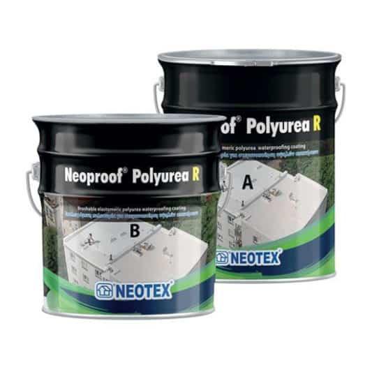 Neoproof Polyurea R chống thấm sàn mái 19 Kg – Hãng Neotex Hy Lạp