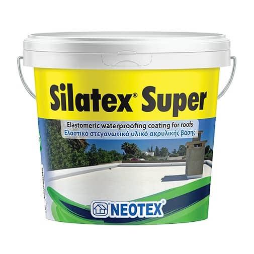 Kinh nghiệm chống thấm sàn mái - Chống thấm silatex Super gốc Acrylic