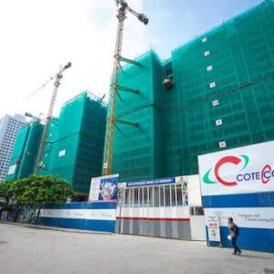 Lưới bao che công trình xây dựng Đại Phú Vinh - Lh Đặt hàng 0919.157.575